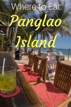 Our top 3 restaurant recommendations for where to eat in Panglao, a beautiful Island in the Philippines | Ravenous Travellers Travel Blog
