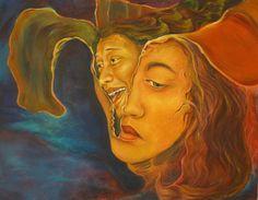 Hypocrite Oil on canvas