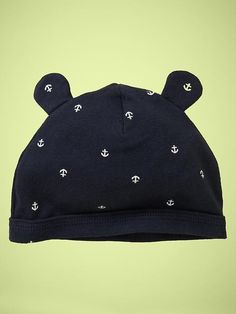Heath's coming home hat! anchors -baby gap