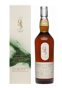 Lagavulin 21 Years Old Limited Edition 2012 - huge wish list item, maybe ungettable