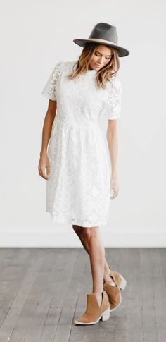 This Lace Dress