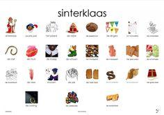 Sinterklaas plaat Learn Dutch, Dutch Language, Saint Nicolas, Spelling, Teaching, Logos, Posters, Homeschooling, Holland