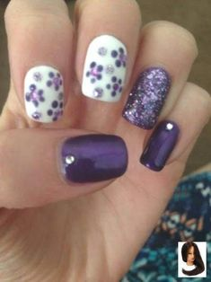 Looking for new nail art ideas for your short nails recently? These are awesome designs you can realistically accomplish–or at least ideas you can modify for your own nails! Spring Nail Art, Spring Nails, Summer Nails, Nail Art Designs, Nail Designs Spring, Nails Design, Salon Design, Flower Designs For Nails, Fingernail Designs