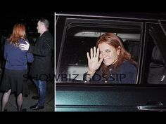 Why Sarah Ferguson - Duchess of York in Prince Andrew's Private Car?
