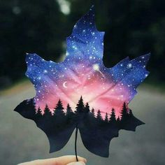 Painting Galaxy Art 52 Ideas For 2019 Galaxy Painting, Galaxy Art, Space Painting, Painted Leaves, Painting On Leaves, Gouache Painting, Leaf Art, Art Pictures, Cool Drawings
