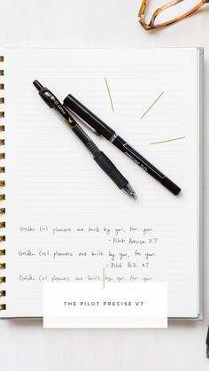 We love the Pilot Precise V7! Head to our blog to see our full list of recommended pens! Pilot, How To Plan, Remote