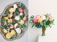 20 Beautiful Bridal Bouquets and Matching Boutonnieres!