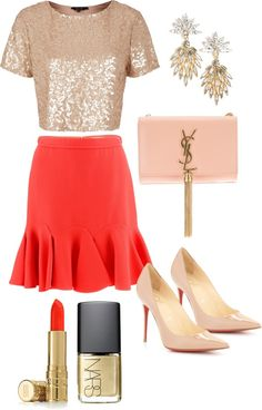 Holiday style : blush + coral