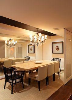 Sala de jantar (Dinner room) by Paola Ribeiro Arquitetura