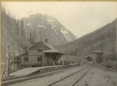 Canadian Pacific Railway, Canadian Rockies, Old Photos, Vintage Photos, Grey Wallpaper Iphone, Freight Transport, Angel Flight, Parks Canada, Western Canada