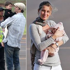 Gisele Jets to Hawaii With Baby Vivian and Her Boys | Get more cute pictures here