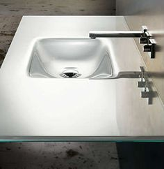 Vitraform Rectangular Front Countersink 370 :: Bath Sink From Home U0026 Stone