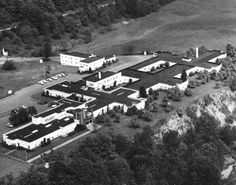 The Kaiser Foundation Hospital closed in 1959 following the opening of Bess Kaiser Hospital in Portland, and was sold the same year to Columbia View Manor Corporation for use as a nursing home. Photo dated June 21, 1955.