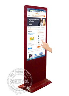 Totem Touch Screen Kiosk For Shopping Mall / 55 Inch Lcd Digital Signage…