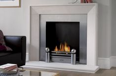 Find out all of the information about the Acquisitions Fireplaces product: gas fireplace SLOANE . Contact a supplier or the parent company directly to get a quote or to find out a price or your closest point of sale. Gas Fireplace Mantel, Modern Fireplace Mantles, Industrial Fireplaces, Fireplace Lighting, Limestone Fireplace, Traditional Fireplace, Marble Fireplaces, Living Room With Fireplace, Fireplace Surrounds