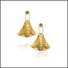 Linda Kindler Priest - Bee Earrings