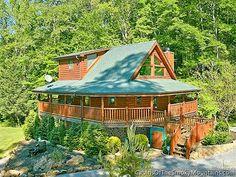 Pigeon Forge Cabin - Shady Creek Retreat - 1 Bedroom