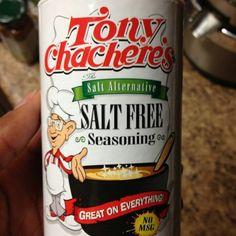 Salt free seasoning Sodium Foods, Low Sodium Diet, Low Sodium Recipes, Salt Free Recipes, Salt Free Seasoning, Drinking Tea, Free Food, Health And Wellness, Spices
