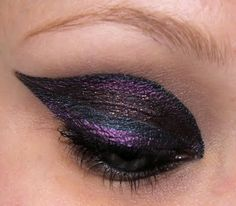 make up //great look just with liquid liners