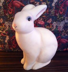 Heico Rabbit Lamp Plug in Bunny. The Rabbit lamp by Egmont is handmade in Germany and the company that manufactures them has been using the same mould since the 1960s.