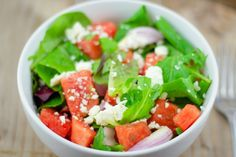 Watermelon and Feta Salad | Lemon & Olives | Greek Food & Culture Blog