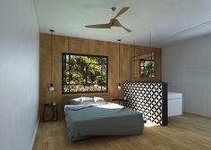 שלבים בחיים: דירה חמימה בה חיפוי הרצפה והקיר מתמזגים | בניין ודיור