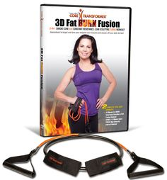 Lose belly fat, shred your abs. For a limited time only we are offering FREE SHIPPING with our new Core Transformer kit that includes our new, 3D Fat BURN Fusion DVD and improved, super durable resist