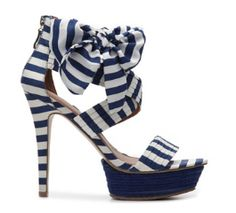 Summer Shoes Nautical heels - well these are absolutely adorable!
