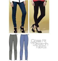 K3807 | Pants | Pants, Shorts & Tops | Kwik Sew Patterns