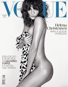 Helena Christensen on Vogue Portugal September 2016 Cover