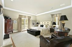 Town & Country Real Estate - East Hampton #TownandCountry #Hamptons #Bedroom #HomeDecor