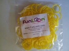 Yellow FunLoom Rubber Bands