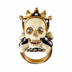 The famous Codognato Skull ring. Part of Venetian jewelry making since 1866.