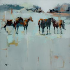 Scott Ewen - Oil paintings | Big Animals