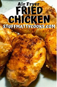 Air Fryer Fried Chicken Drumsticks and thighs are juicy and flavorful. Easy to make and delicious airfryerchickenthighs Air Fryer Fried Chicken Drumsticks and thighs are juicy and flavorful. Easy to make and delicious airfryerchickenthighs Air Fryer Chicken Thighs, Air Fryer Fried Chicken, Crispy Fried Chicken, Fried Chicken Recipes, Roasted Chicken, Air Fryer Dinner Recipes, Air Fryer Recipes, Cooking Recipes, Healthy Recipes