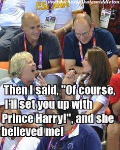 Olympic Gossip (The Inner Duchess of Kate Middleton)