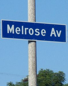 """Here's one for the ladies:  For the best shopping in L.A. skip Rodeo Drive and head straight for Melrose.  With barely any national chain stores, the eclectic boutiques of Melrose are where mohawks meet Maseratis.  I mean, how can you go wrong on a street with shops like """"Retail Slut"""" and """"The Burger That Ate L.A.""""?"""