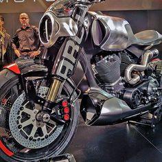 """Arch Method 143 concept""  Keanu Reeves' Dream bike is closer to reality! #Motorcycledreams #drivemagriders #Arch #archmotorcycle #Method143Concept #Caferacer #tracker #BlackList #Gentlemen #BikeExif #KeanuReeves #Eicma"