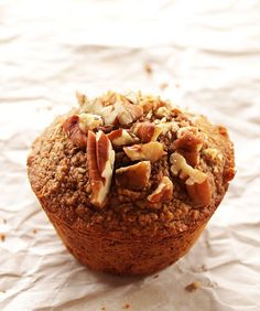 Spiced Carrot Muffins - Tender, fluffy muffins that are perfectly spiced and packed with carrots and raisins. Gluten Free/Dairy Free!   Robustrecipes.com