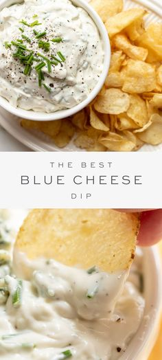 Easy Appetizer Recipes, Appetizer Dips, Yummy Appetizers, Holiday Appetizers, Easy Recipes, Soup Recipes, Blue Cheese Recipes, Blue Cheese Sauce, Blue Cheese Dips