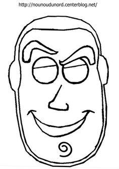 masque buz de toy story d'autres modèles à imprimer cliquez sur mon lien http://nounoudunord.centerblog.net/4209-masques-a-imprimer-classes-par-ordre-alphabetique
