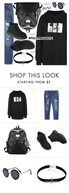 """""""#PolyPresents"""" by meyli-meyli ❤ liked on Polyvore featuring contestentry, polyPresents and gamiss"""