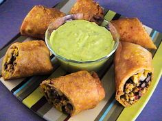 Chili's Southwestern Eggrolls & Dipping Sauce Recipe