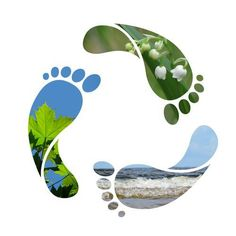 Illustration about Footprint recycle sign - be careful with our planet. Illustration of drop, maple, nature - 9679968 What Is Supply Chain, Pandora Stations, Reduce Reuse Recycle, Sustainable Tourism, Happy Earth, Carbon Footprint, Water Footprint, Green Life, Kyoto