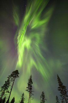 Auroral Corona by antonyspencer, via Flickr