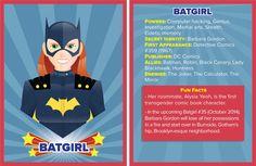 Batgirl- my fave badass woman :D