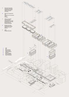 Galería de Prado Arquitectos + Lorenzo Fluxá Arquitectos, mención honrosa concurso edificio municipal Providencia y su plan maestro - 8