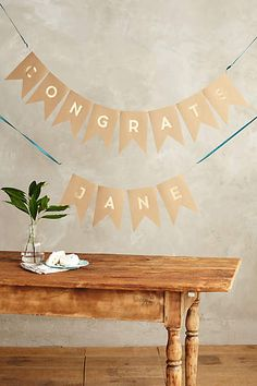 Every Occasion Letter Banner - anthropologie.com