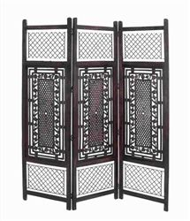 Himalaya Wooden Folding Screen
