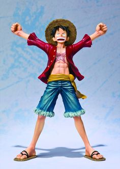 One Piece Monkey D Luffy Victory Ver Toys & Hobbies Pvc Figure Luffy Big Head Doll Figurine Model Toy Collection